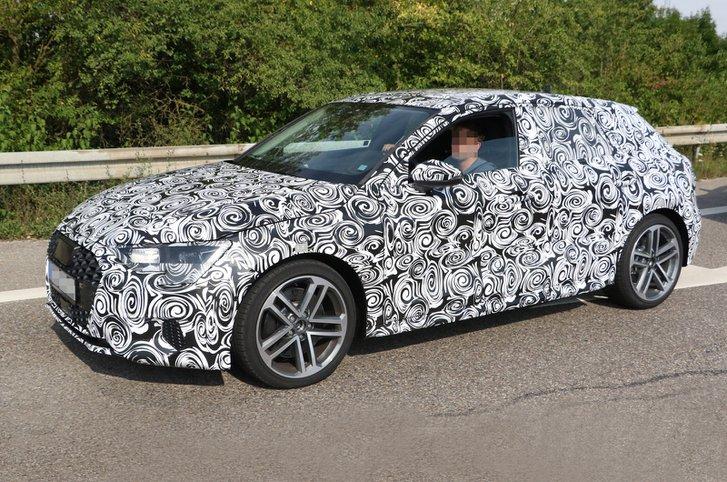 2019 Audi A3 prototype
