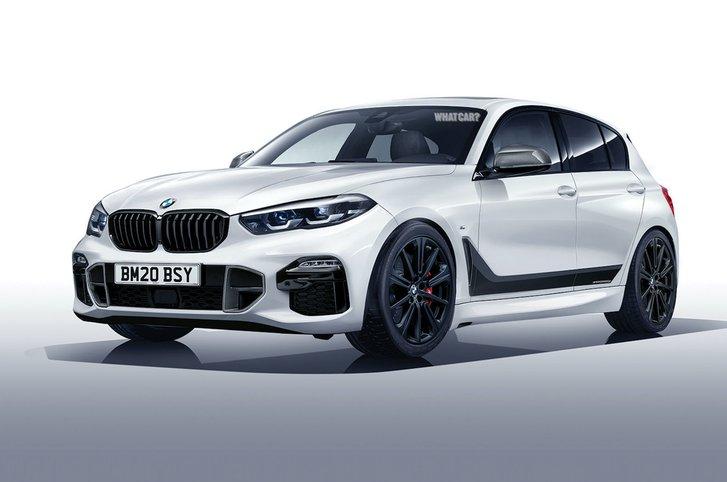 2019 BMW 1 Series rendering