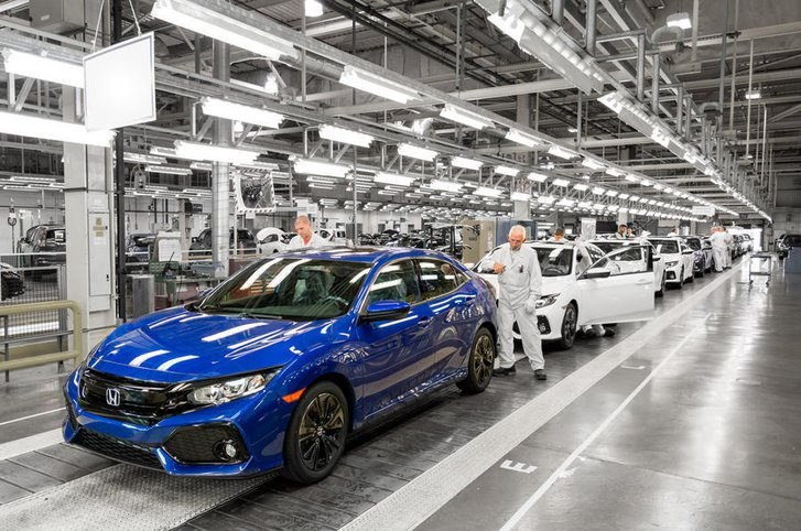 Honda factory Swindon