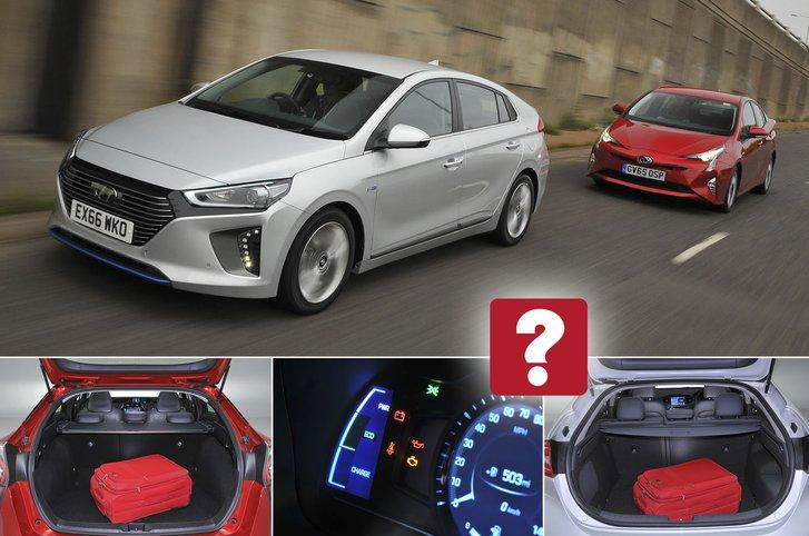 Used test: Hyundai Ioniq vs Toyota Prius