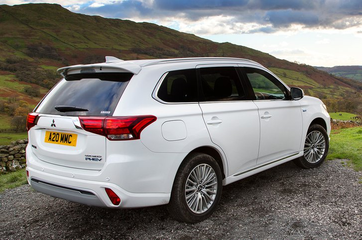 With a plug-in hybrid powertrain and all-wheel-drive, the Mitsubishi Outlander PHEV is a true all-rounder