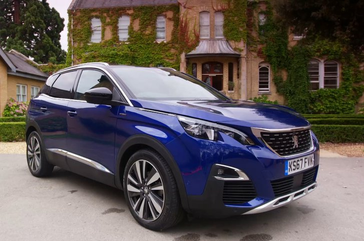 The PEUGEOT 3008 SUV is packed with advanced safety technology