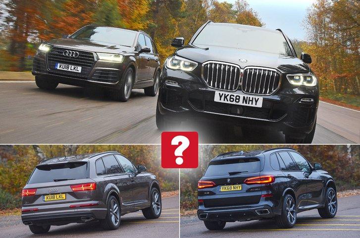 BMW X5 vs Audi Q7