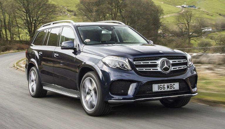 2016 Mercedes-Benz GLS 350 d UK review