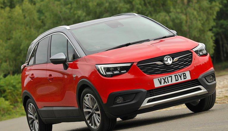 Used Vauxhall Crossland X 2017-present