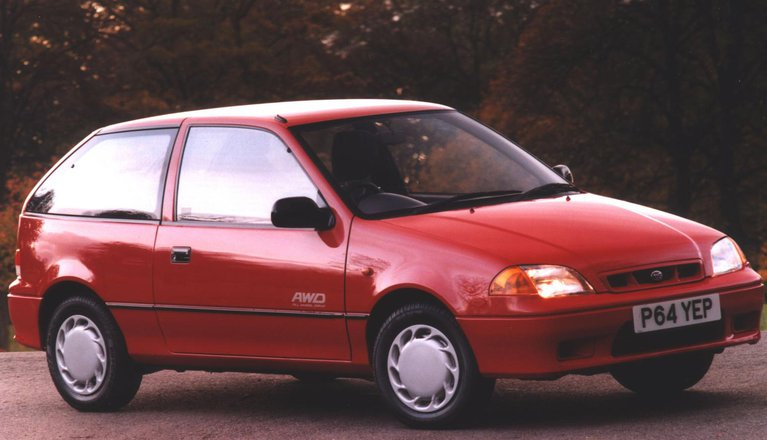 Subaru Justy Hatchback (92 - 02)