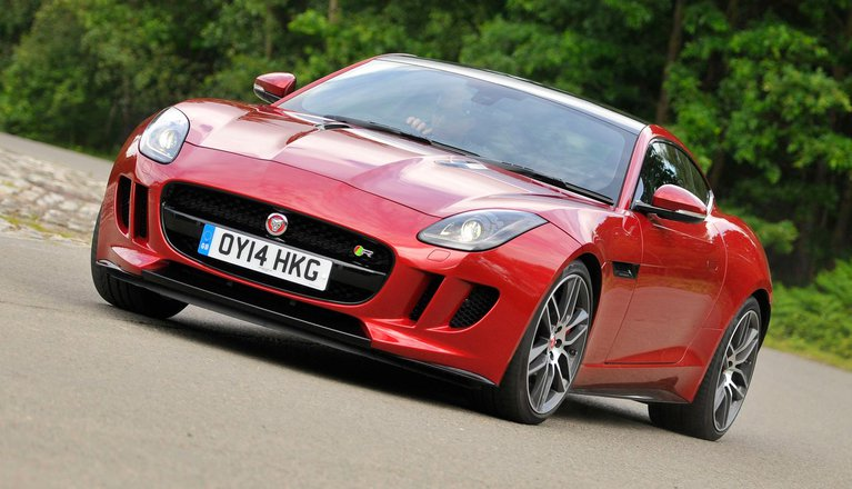 Jaguar F-Type Coupe (14 - present)