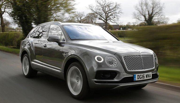 Used Bentley Bentayga 16-present
