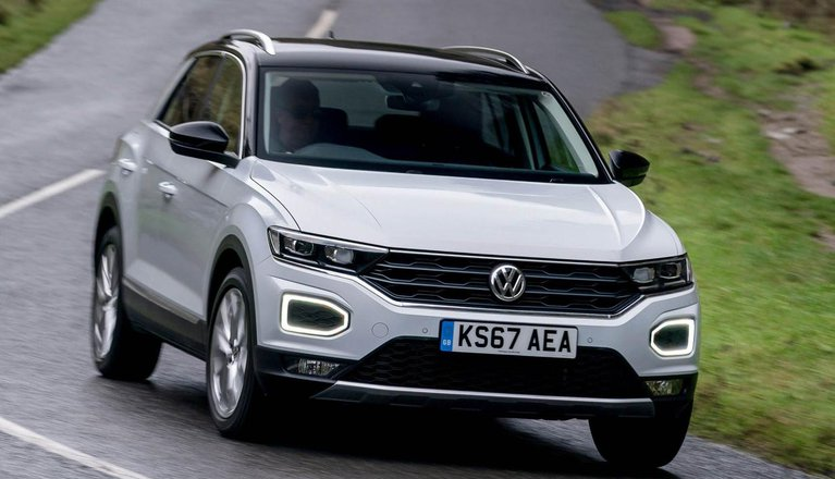 volkswagen t roc review 2019 what car. Black Bedroom Furniture Sets. Home Design Ideas