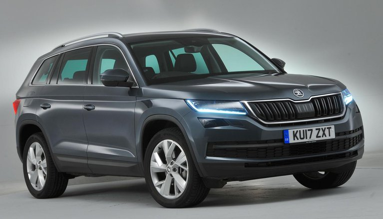 skoda kodiaq review 2019 what car. Black Bedroom Furniture Sets. Home Design Ideas