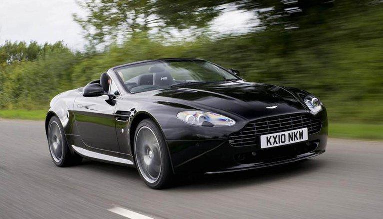 Used Aston Martin Vantage Roadster 05-18