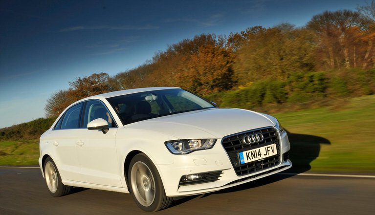 audi a3 saloon review interior layout