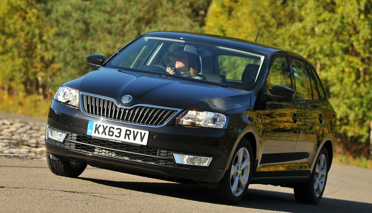 Used Skoda Rapid Spaceback 2013-present
