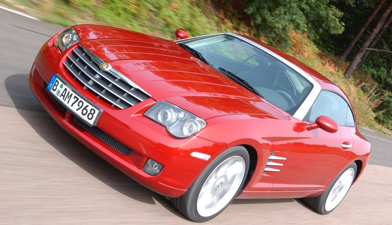 Used Chrysler Crossfire Coupe 2003 2008 Review