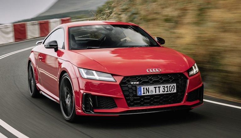 Audi TT front