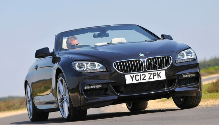 BMW 6 Series Convertible 11-18