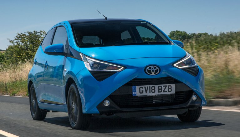 toyota aygo review 2019 what car. Black Bedroom Furniture Sets. Home Design Ideas