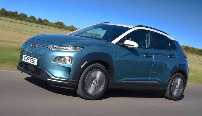 hyundai kona electric review 2019 what car. Black Bedroom Furniture Sets. Home Design Ideas