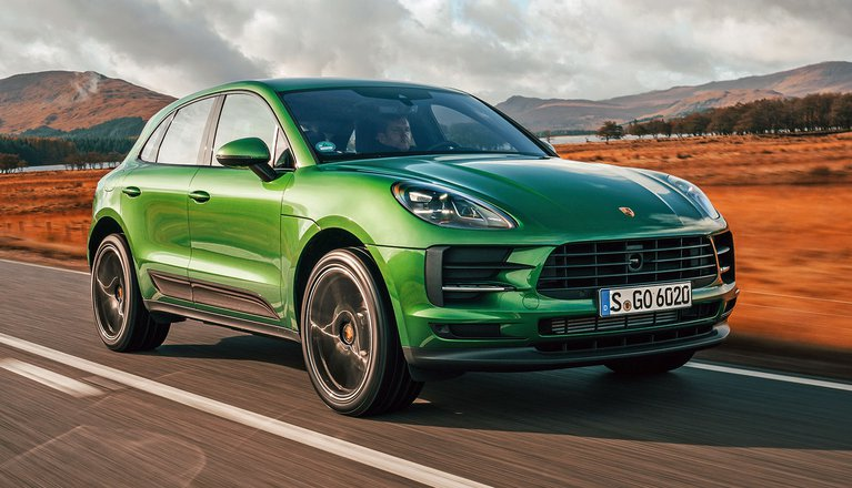 2019 Porsche Macan front three quarter