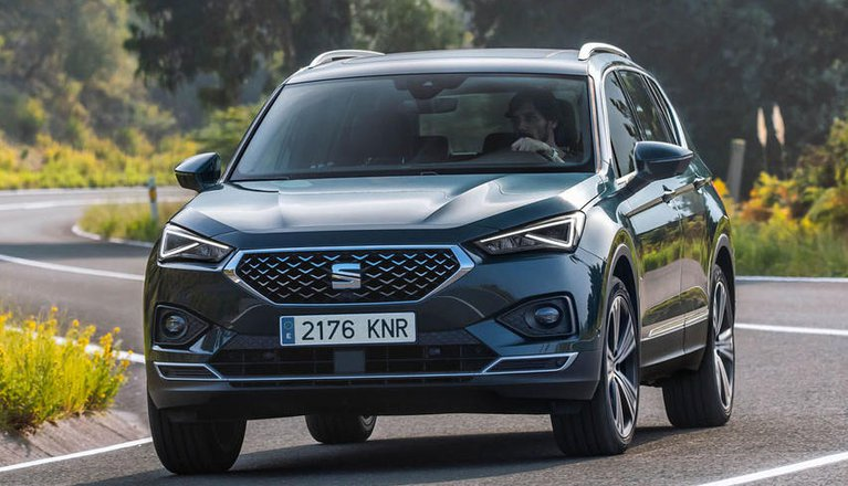 seat tarraco boot space size seats what car. Black Bedroom Furniture Sets. Home Design Ideas