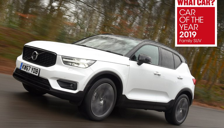 volvo xc40 review 2019 what car. Black Bedroom Furniture Sets. Home Design Ideas
