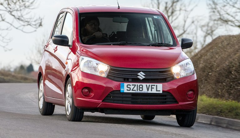 Suzuki Celerio 2019 front right cornering shot