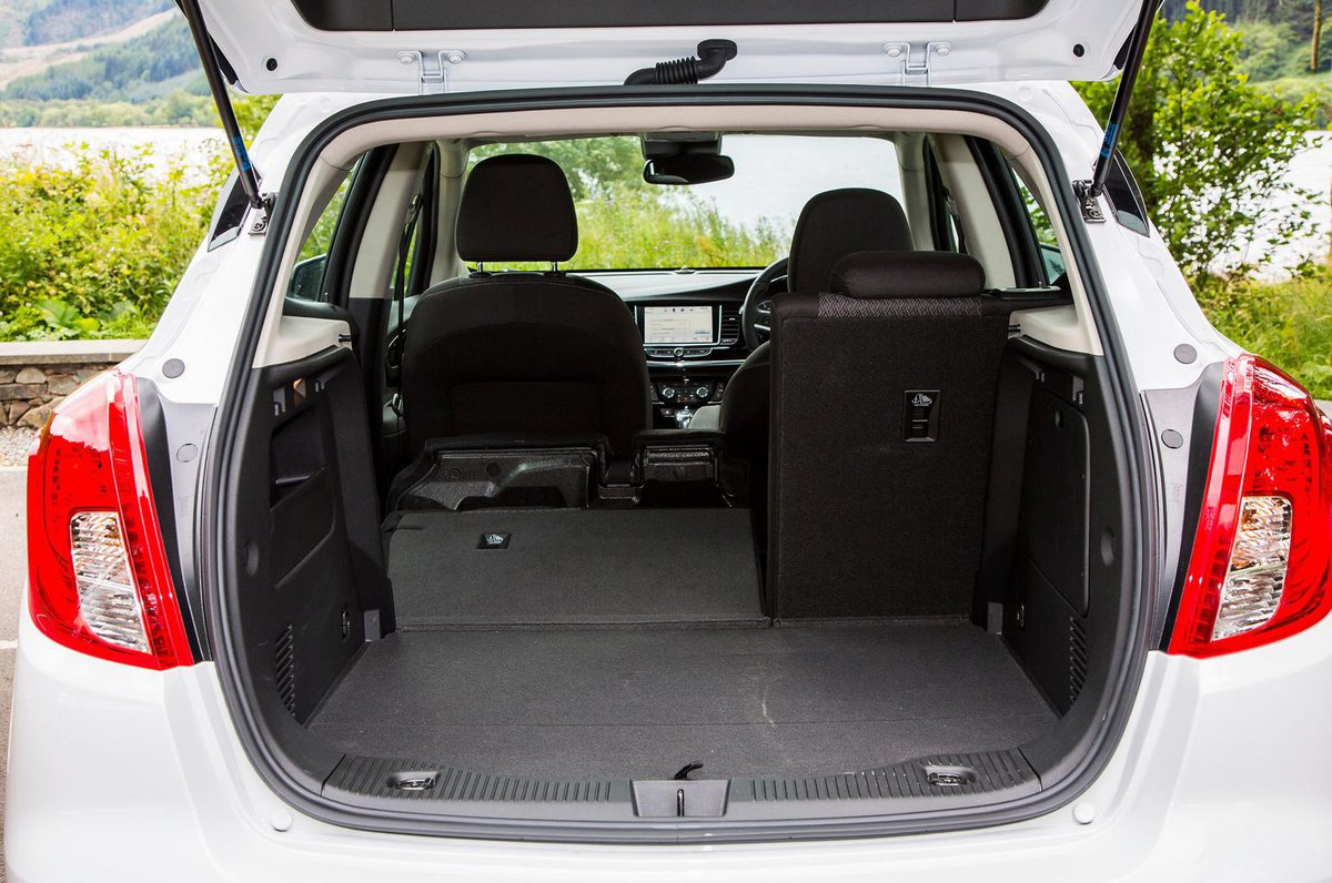 Opel Zafira Boot Space Dimensions Vauxhall Life 16 5dr Mpv