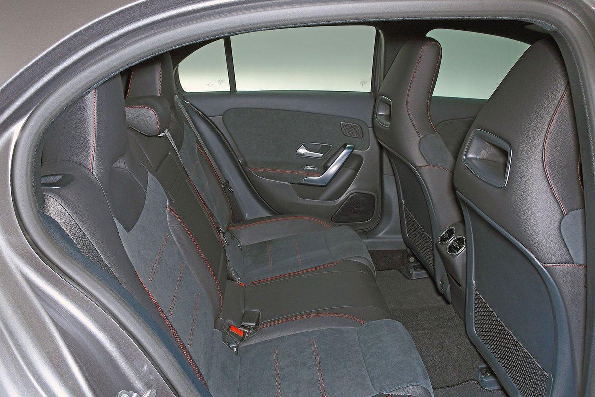 2018 Mercedes A-Class rear seats