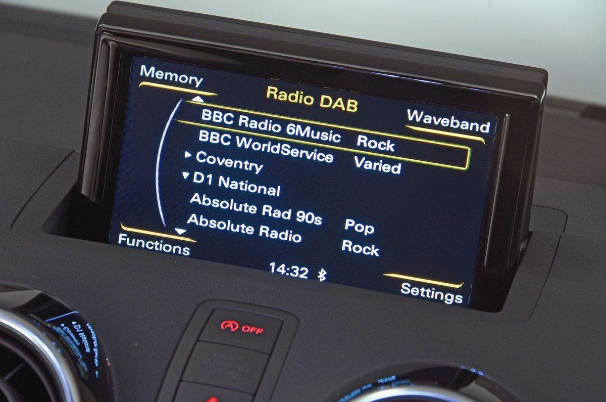 Audi A1 infotainment