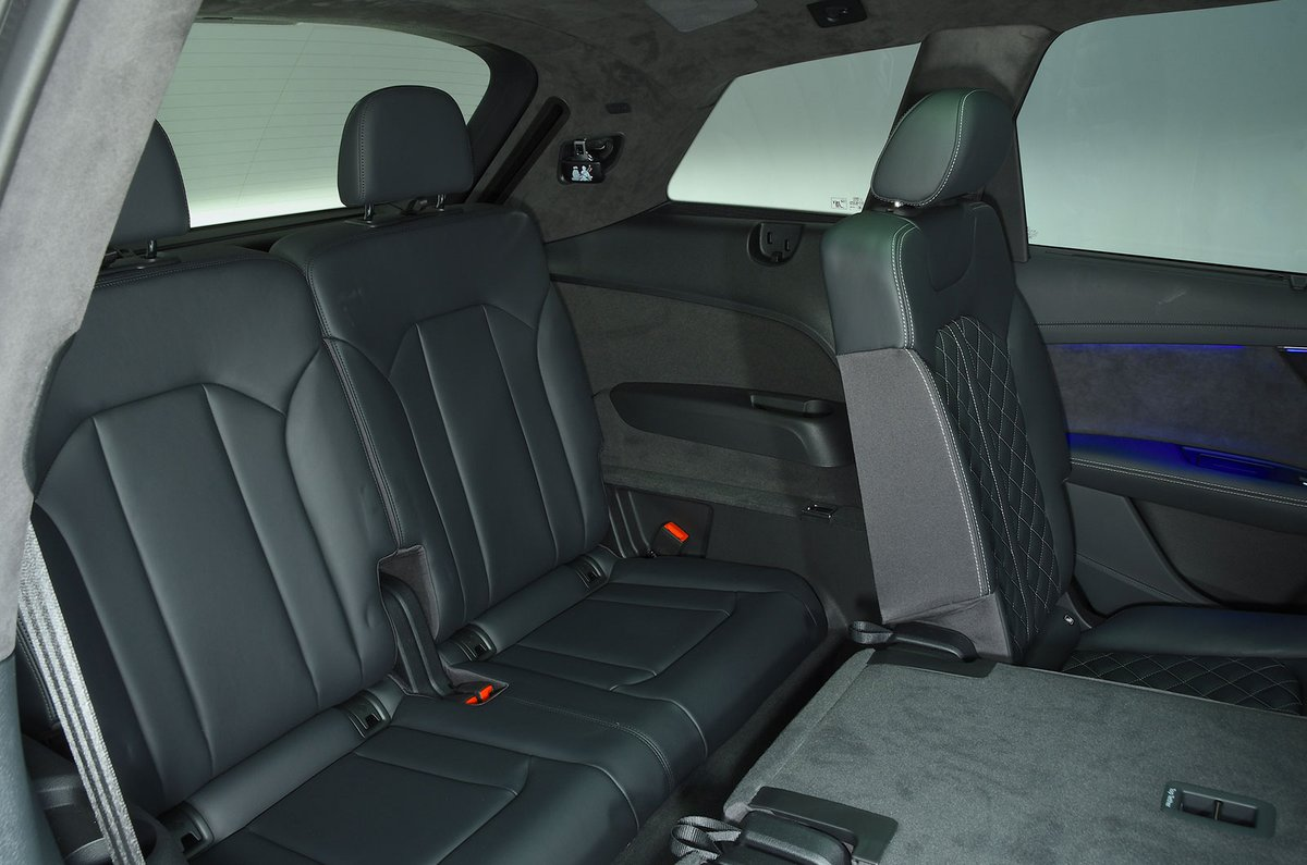 Audi SQ7 rear seats