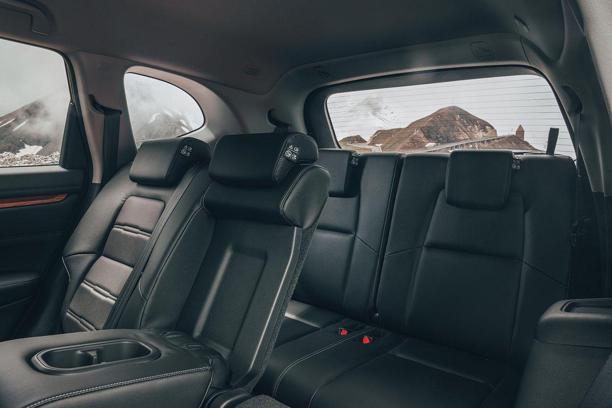 Honda CR-V rear seats