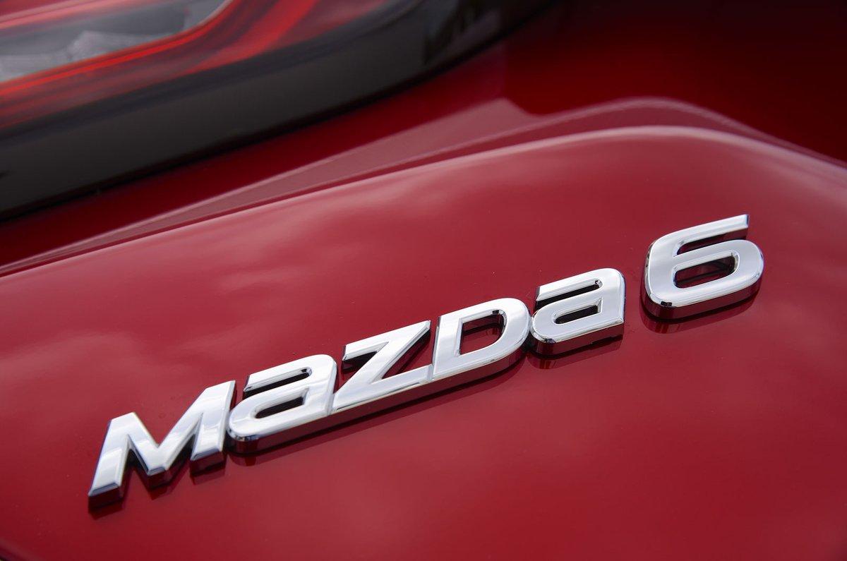 Mazda 6 badge