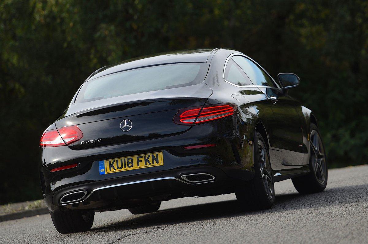 Mercedes C-Class Coupé rear