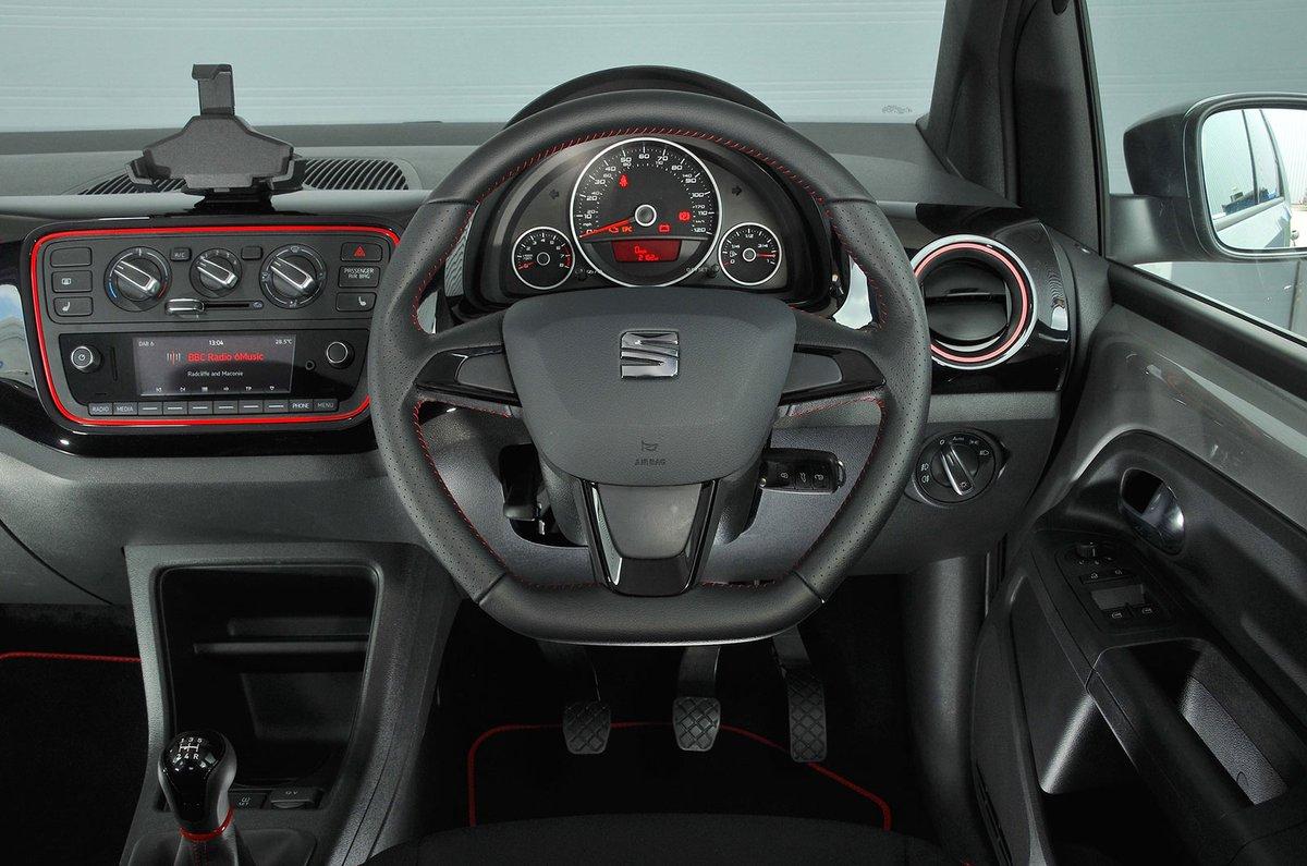 seat mii interior sat nav dashboard what car. Black Bedroom Furniture Sets. Home Design Ideas