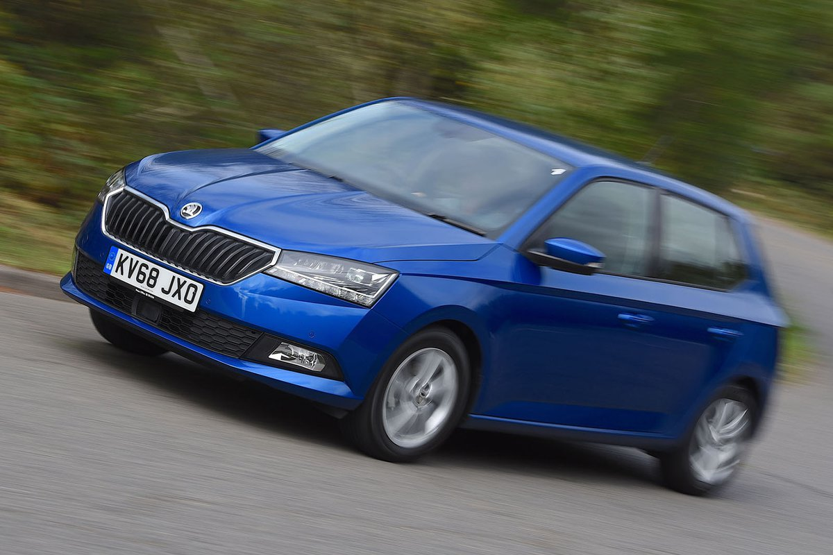 Skoda Fabia Performance Engine Ride Handling What Car Pick Up 1 3 Diagram Side