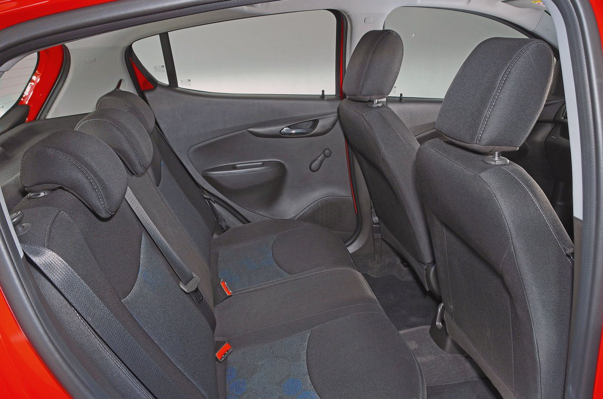 Vauxhall Viva rear seats