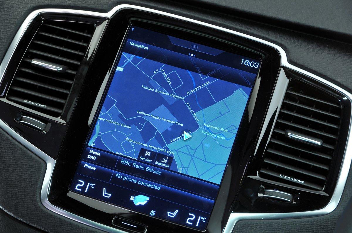 Volvo XC90 sat-nav