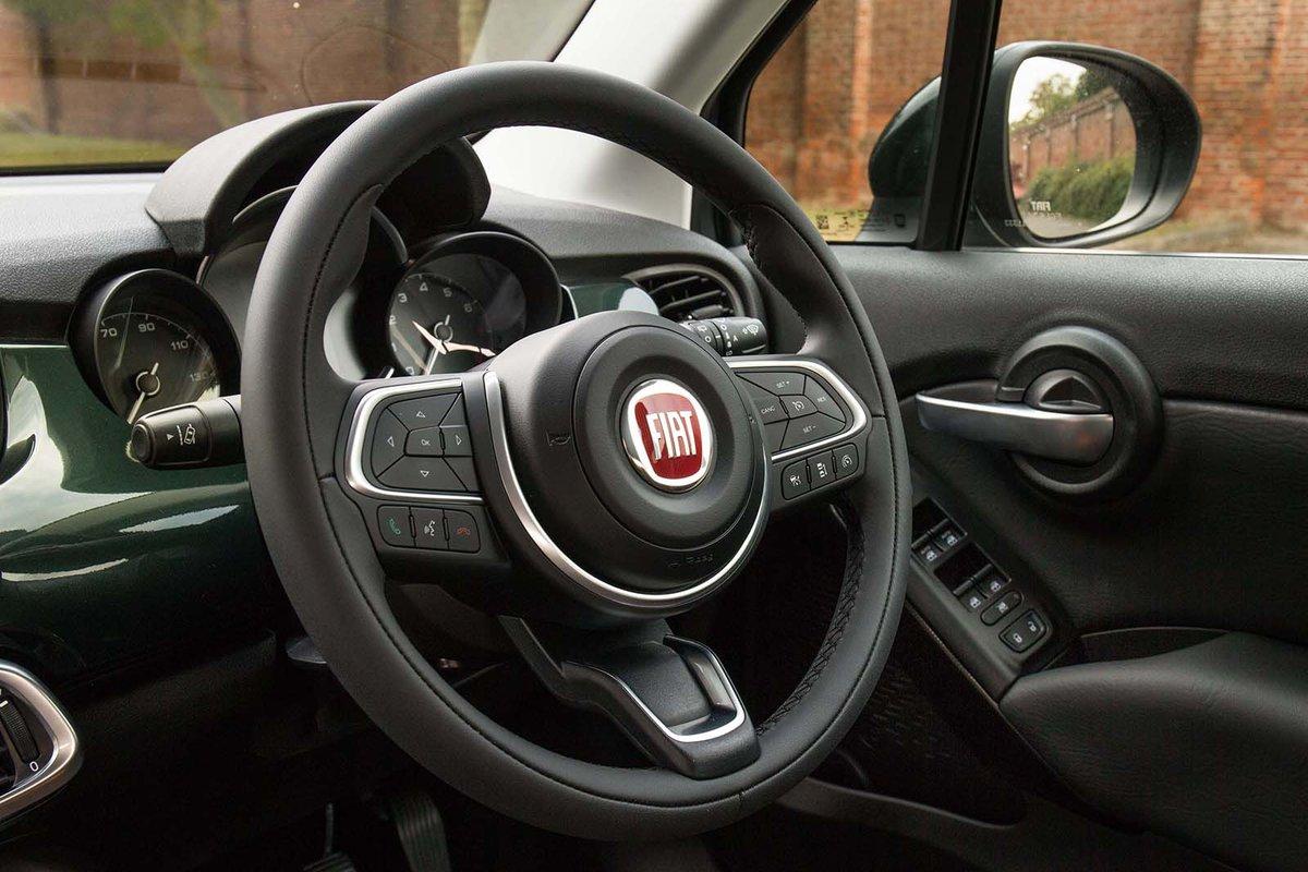 Fiat 500X dashboard