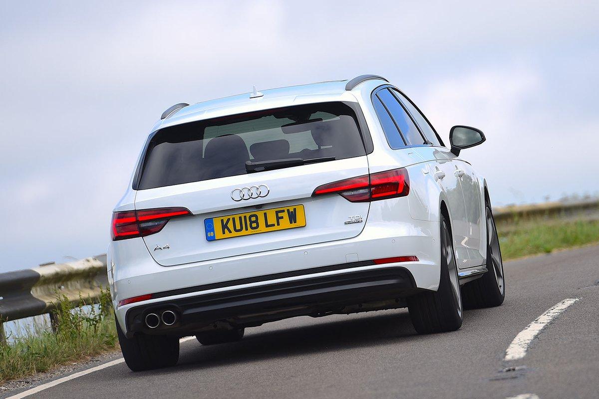 2018 Audi A4 Avant rear cornering