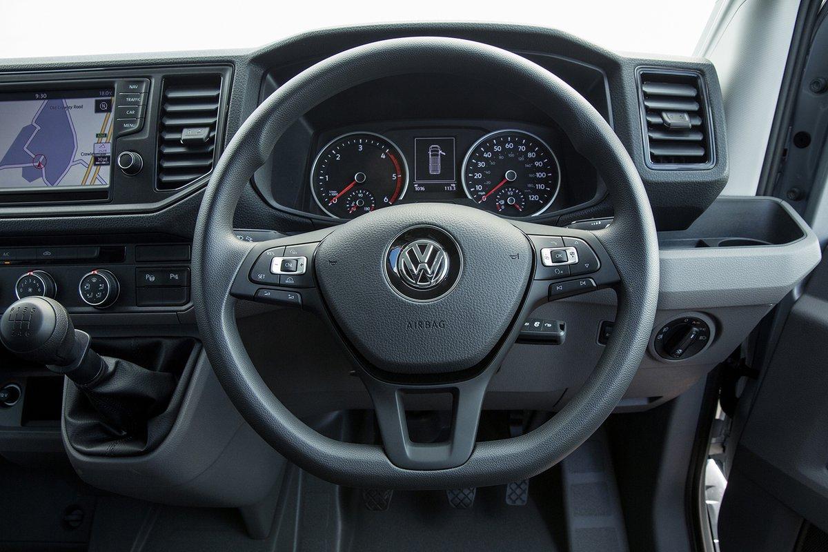 Volkswagen Crafter steering wheel