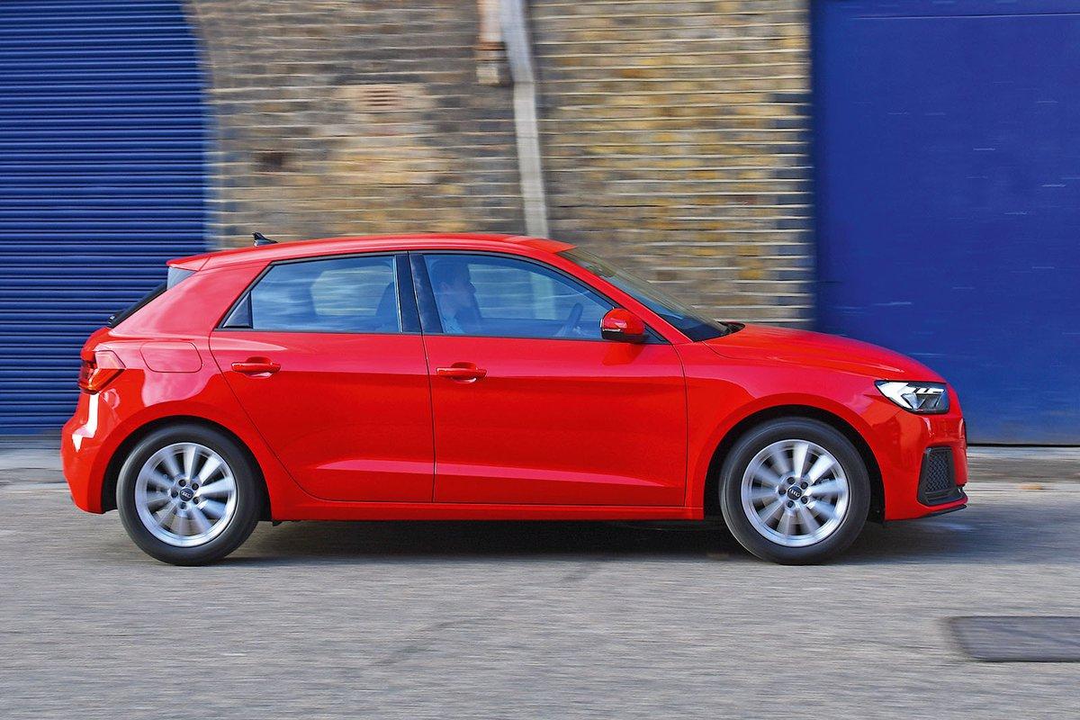 Audi A1 Sportback side profile