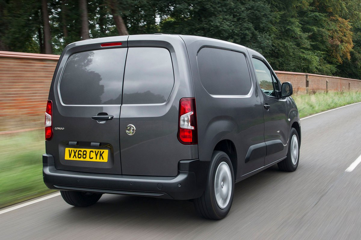 Vauxhall Combo Cargo rear