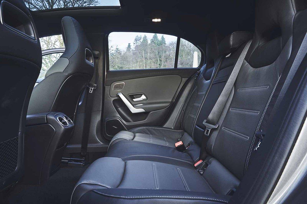 Mercedes-AMG A35 2019 rear seats
