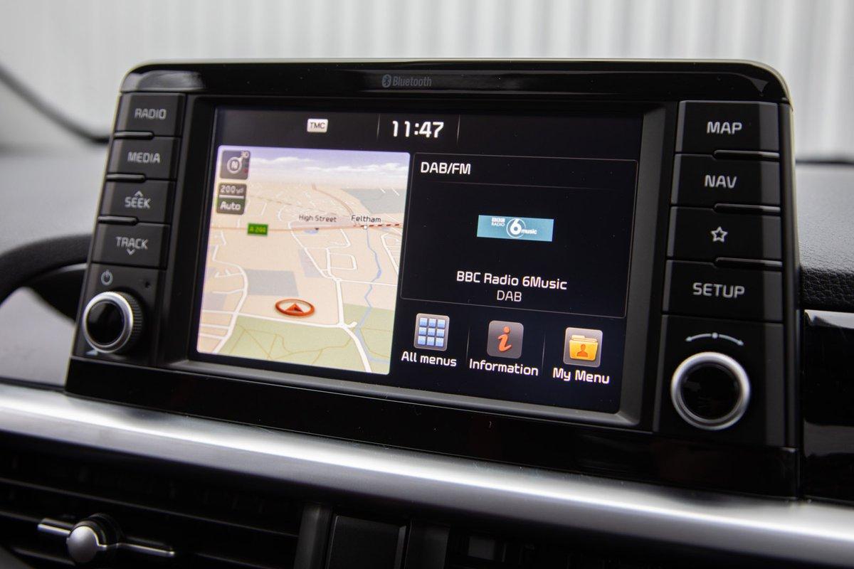 Kia Picanto 2019 infotainment