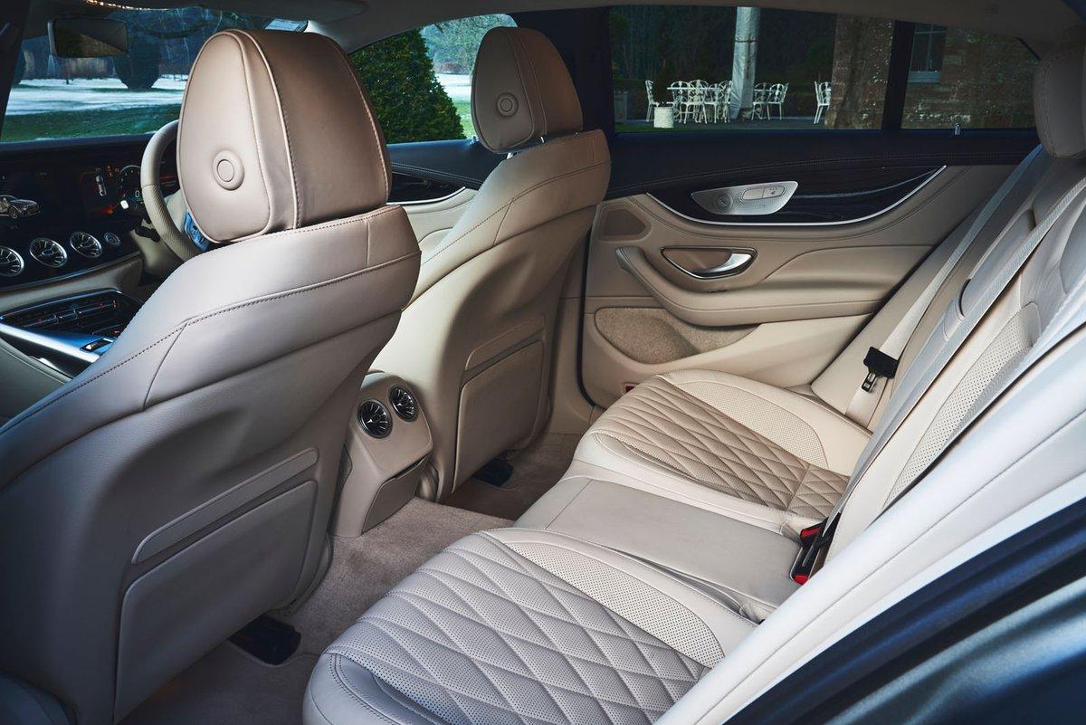 Mercedes-AMG GT 4-door 2019 rear seats