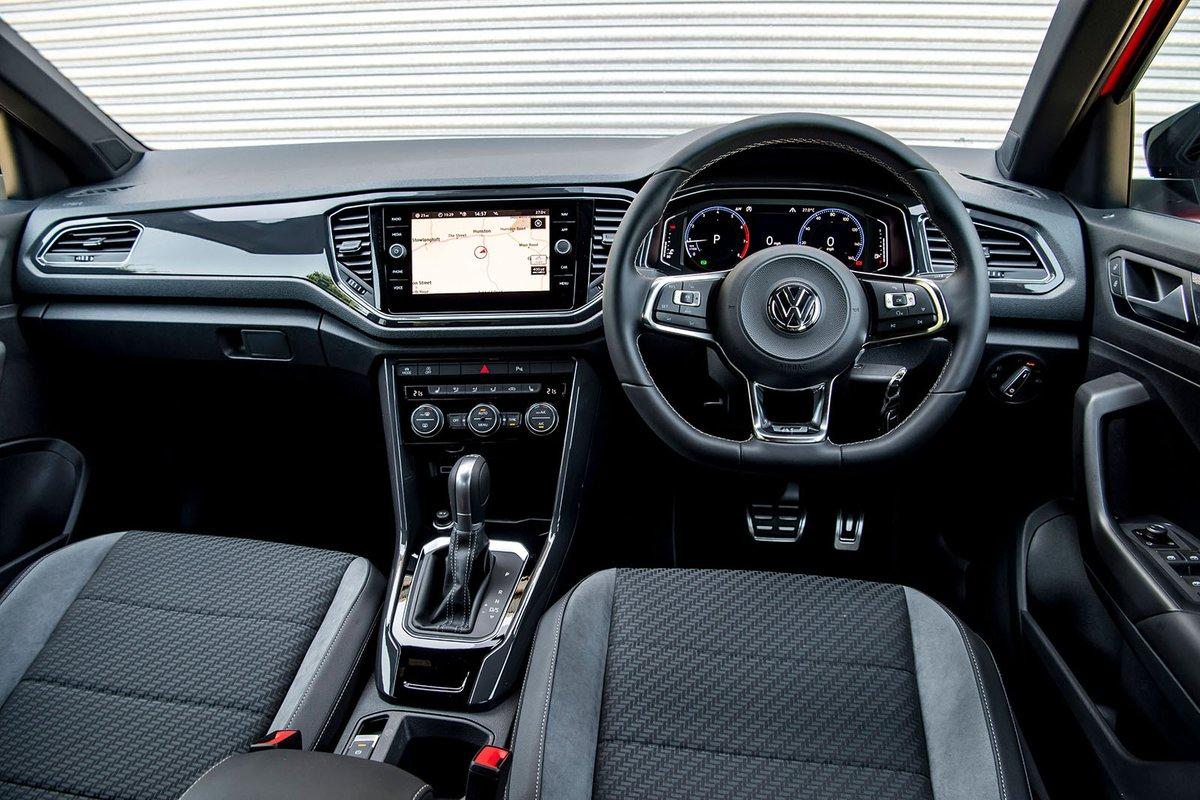 Volkswagen T-Roc 2018 dashboard