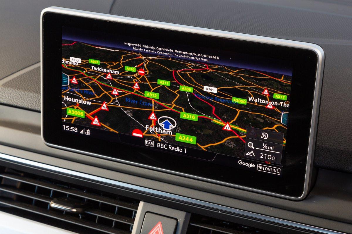 Audi A4 2019 infotainment