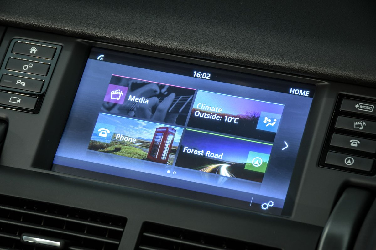 Land Rover Discovery Sport 2019 infotainment