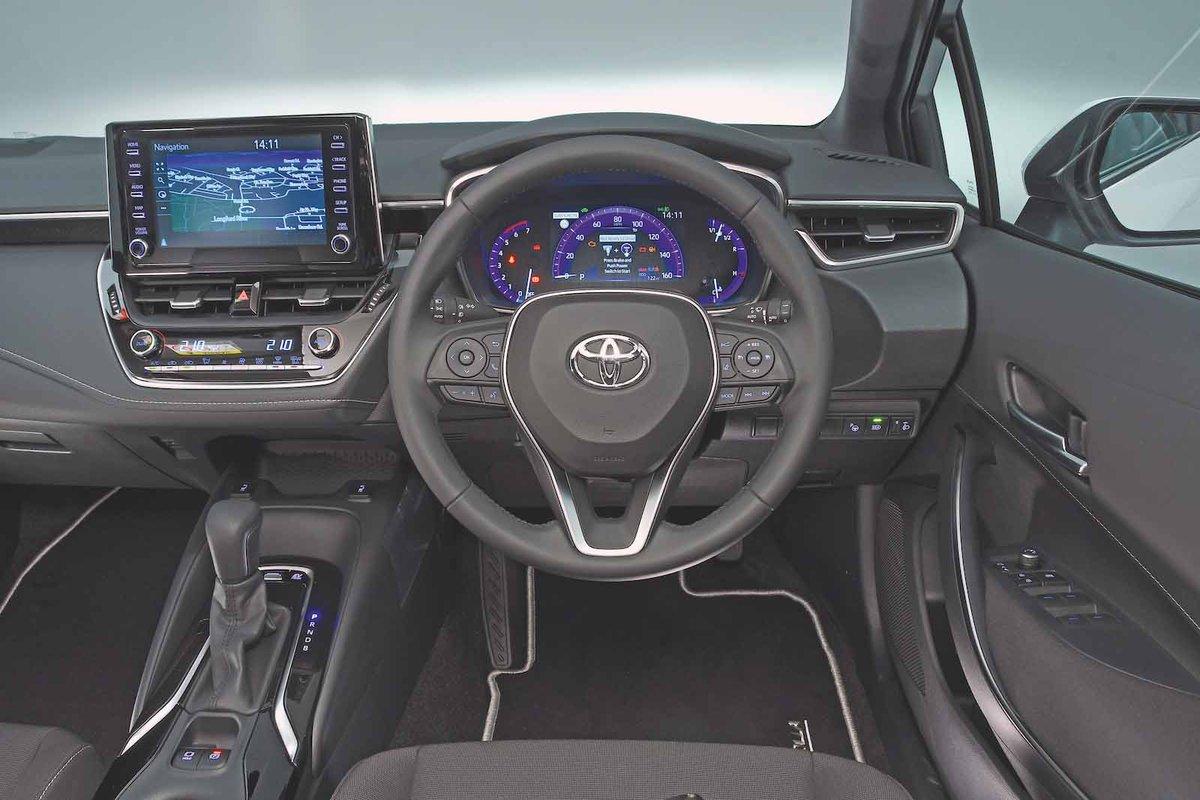 Toyota Corolla 2019 RHD dashboard