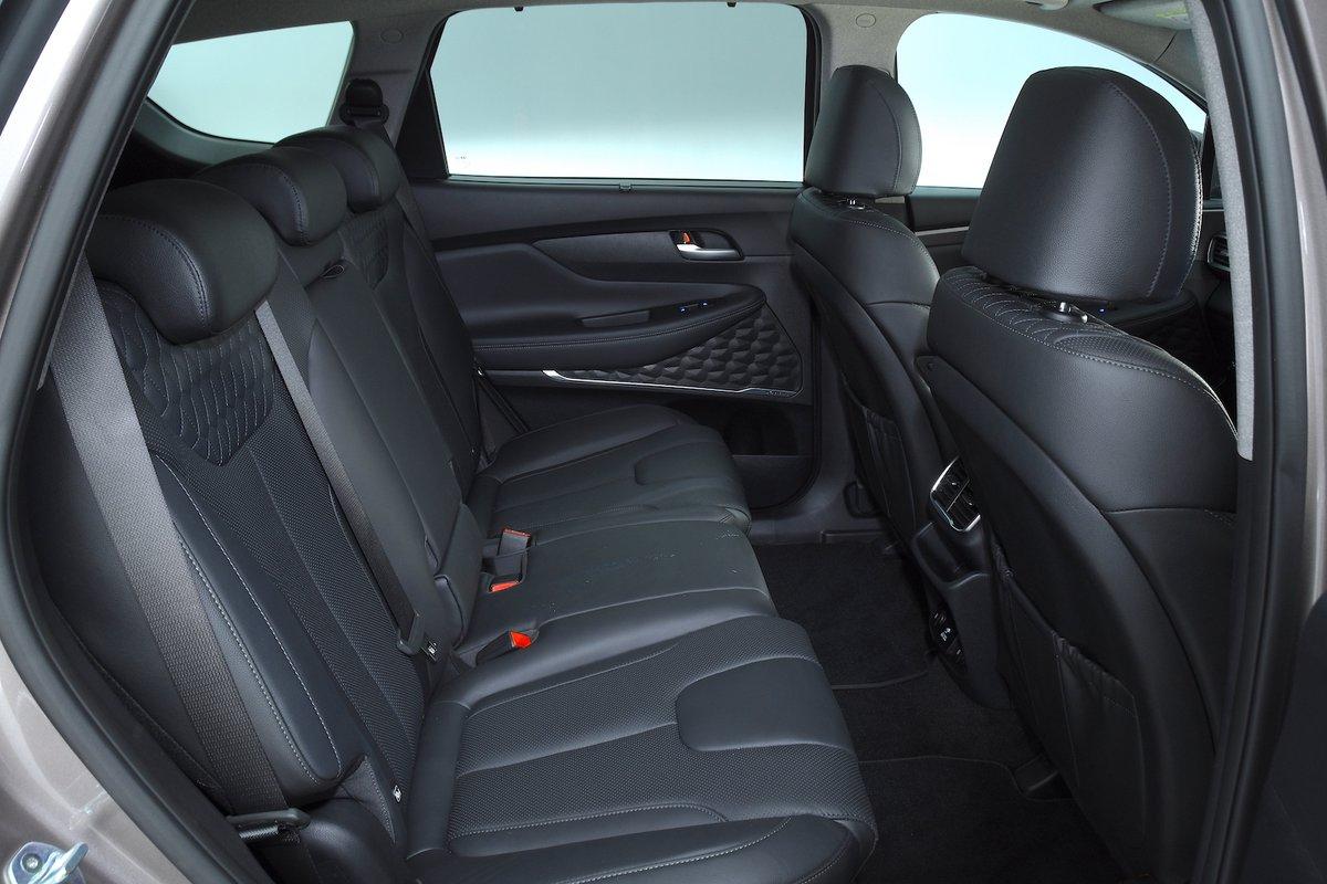 Hyundai Santa Fe 2019 rear seats